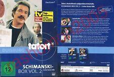 DVD TATORT ZWEIERLEI BLUT+SPIELVERDERBER+GEBROCHENE BLÜTEN Schimanski Kult NEU