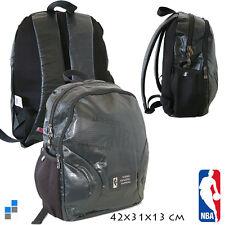 MOCHILA NBA GRIS Y NEGRO 42 CM