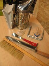 Beekeeping equipment starter pack smoker hive tool