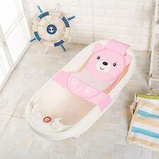 Baby Bath Seat Net Bathtub Sling Shower Mesh Anti-Slip Infant Bathing Cradle New