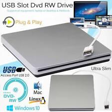 USB2.0 Externa Cd-Rw DVD Drive Quemador Escritor Reproductor para Macbook Mac