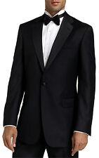 Men's Black Tuxedo. Size 52 Long Jacket & 46 Long Pants. Formal, Wedding, Prom