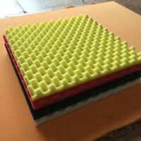 1Pc 50x50x3cm Soundproof Sponge Absorption Sound For Studio Bar Foam Wall Tiles