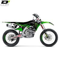 KAWASAKI KXF250 13-16  MONSTER ENERGY FULL GRAPHIC KIT D'COR