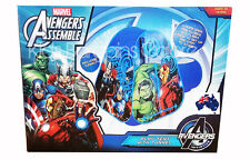Aus Qlty Marvel Avengers Pop Up Play Tent/Cubby With Tunnel-Indoor/Outdoor