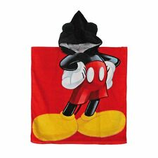 Micky Mouse Official Licenced Children Kids Cotton Beach Poncho - 120 x 60 cm
