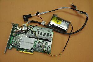 Dell R310 R410 1U Server PERC H700/512MB RAID Card / Cable / battery W56W0 J9MR2