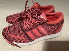 Women's Adidas Originals Pink Los Angeles Trainers Size Uk 4