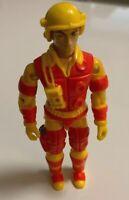 "1984 Blowtorch Vintage GI Joe Action Figure 3.75"" Hasbro"