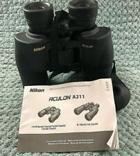 Nikon Aculon A211 10X42 6 Degrees Binoculars With Soft Case