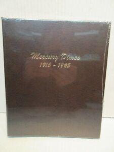 Dansco Coin Album # 7123 Mercury Dimes 1916 - 1945