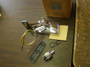 NOS OEM Ford 1965 Fairlane + Comet Remote Mirror Chrome + Falcon