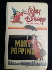 Walt Disney Mary Poppins VHS First Generation Home Video