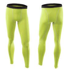 Men's Compression Baselayer Long Pants Skins Tight Leggings Bottoms Sportswear