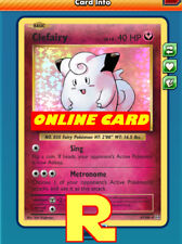 Clefairy Support Set (Copy) for Pokemon TCG Online ( DIGITAL ptcgo in Game Card)