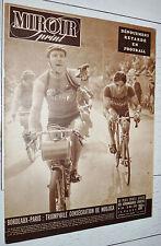 MIROIR SPRINT N°156 1949 CYCLISME BORDEAUX-PARIS MOUJICA FOOTBALL JEU A XIII