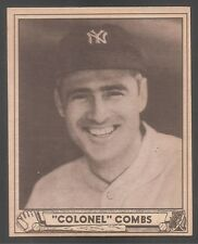 1940 Play Ball #124 Earle Combs Yankees Ex-Mt!