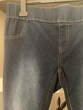 Ladies Denim Jeggings Size 20 By Esmara