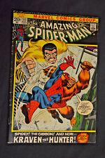 The Amazing Spider-Man # 111 Marvel Comics Kraven the Hunter, Gibbon August 1972