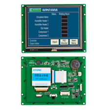 5.6 Inch Resistive HMI Touch Panel LCD Display with Controller+Serial UART Port