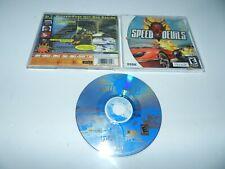 Speed Devils Sega Dreamcast Game Complete in Case Tested
