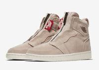WMNS Nike Air Jordan 1 Retro High Zip SZ 9 Rose Gold Red Bronze OG AQ3742-205