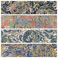 """Traditional Paisley printed Cotton Lawn dress fabric 58"""" Wide M776 Mtex"""