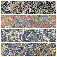 "Traditional Paisley printed Cotton Lawn dress fabric 58"" Wide M776 Mtex"