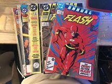 FLASH (1987 DC COMICS) ANNUALS 1-5 (1 2 3 4 5) NM- 9.2 FREE SHIPPING!