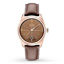 Bulova 64B124 Men's Murren  Brown Automatic Watch