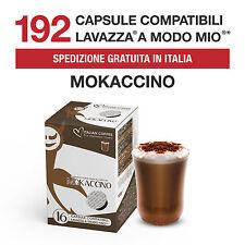 192 Cialde Capsule Caffè Mokaccino Italian Coffee compatibili Lavazza A Modo Mio