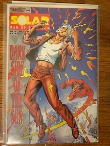 Solar Man Of The Atom #40 Mint condition. Valiant comics Free Bag And Board