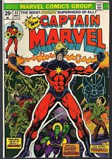 CAPTAIN MARVEL #32 MAY '74 THANOS APP ORIGIN DRAX THE DESTROYER STARLIN NICE NM-