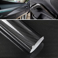GI- CO_ 5D Shiny Gloss Carbon Fiber Car Wrap Sticker Decal Protection Film Car D