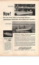 1959 PAPER AD Starcraft Motor Boat 15' Runabout Clinker Type Aluminum Ski Boat