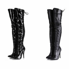 Zip Medium Width (B, M) Over Knee Boots for Women