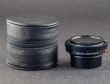 Leica Macro Adapter-M 14652 schwarz FOTO-GÖRLITZ Ankauf+Verkauf