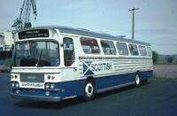 PHOTO Western Scottish Bristol RE T2305 TSD118J in 1984 on route 61