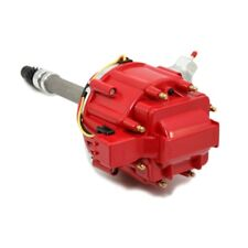 HEI Distributor 65K Coil Red Cap w/ Tach Drive Chevy Big & Small Block 350 454