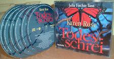 KAREN ROSE  -  Todesschrei   (6 CD's)  Julia Fischer liest.....