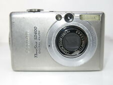 Canon IXUS 60 / PowerShot Digital ELPH SD600 6.0MP Digital Camera - Silver