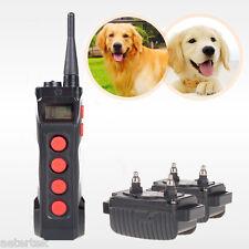 AETERTEK Top Dog Electric Shock Collar Control Train Remote Anti Bark Waterproof