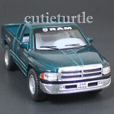 Kinsmart Dodge Ram 1500 4x4 Pick Up Truck 1:44 Diecast Toy Car Green