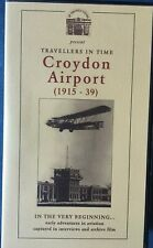 History of Croydon Airport VHS Tape PAL
