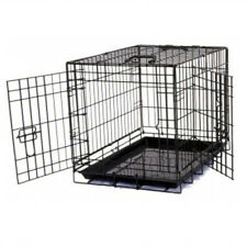 "Heavy duty 36"" Folding Pet Dog Puppy Cat Training Cage Crate Carrier UKES"