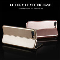 iPhone5/5s/X 8/7 6s Hybrid 360° Shockproof Leather Finish Flip Wallet Case Cover