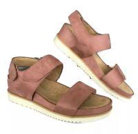 Comfort Natural Soul 7.5 M Women Sandals Pink Suede Platform Pink $ 80.00