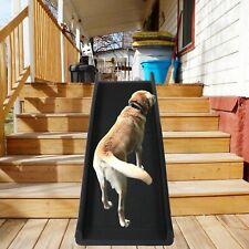 Lonabr Portable Dog Ramp Folding Pet Ramp Non-Slip Heavy Duty Suv Pool Stairs