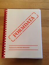 2013 Formdata Annual, national hunt, horse racing, computerised analysis/ratings