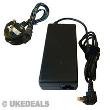 Acer Aspire 5738z Laptop Cargador De Batería Power Supply 19v 90w + plomo cable de alimentación